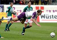 ◊Copyright:<br />GEPA pictures<br />◊Photographer:<br />Norbert Juvan<br />◊Name:<br />Rushfeldt<br />◊Rubric:<br />Sport<br />◊Type:<br />Fussball<br />◊Event:<br />OEFB Stiegl-Cup, SV Mattersburg vs FK Austria Mempis Wien<br />◊Site:<br />Mattersburg, Austria<br />◊Date:<br />10/04/04<br />◊Description:<br />Dietmar Kuehbauer (Mattersburg), Sigurd Rushfeldt (A.Wien)<br />◊Archive:<br />DCSNJ-1004041300<br />◊RegDate:<br />10.04.2004<br />◊Note:<br />8 MB - KA/KA