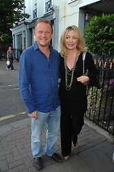 KIRSTY YOUNG and NICK JONES at at the launch party for Imogen Edwards-Jones's new book Beach Babylon held at Beach Blanket Babylon, Ledbury Road, London on 18th July 2007.<br />