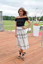 MILLIE MACKINTOSH at the Audi Polo Challenge at Coworth Park, Blacknest Road, Ascot, Berkshire on 31st May 2015.