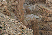 Flash Flood in the Negev Desert, Israel. Photographed in Wadi Tzeelim after heavy rainfall