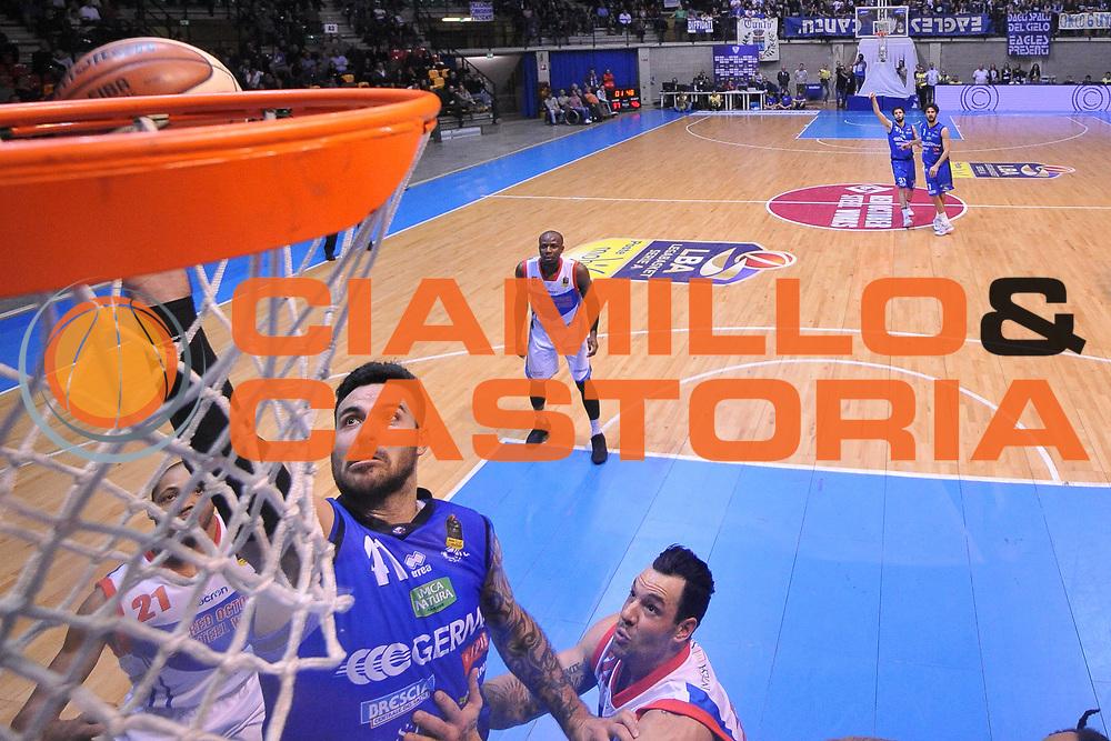 Brian Sacchetti<br /> Red October Cantu - Germani Leonessa Basket Brescia<br /> LegaBasket Serie A 2017/2018<br /> Desio, 04/12/2017<br /> Foto M.Ceretti / Ciamillo - Castoria