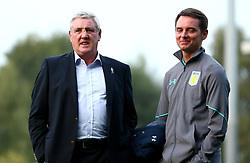 Aston Villa manager Steve Bruce arrives at Burton Albion - Mandatory by-line: Robbie Stephenson/JMP - 26/09/2017 - FOOTBALL - Pirelli Stadium - Burton upon Trent, England - Burton Albion v Aston Villa - Sky Bet Championship