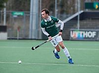 AMSTELVEEN - Diede van Puffelen (Rdam)    tijdens de hoofdklasse hockeywedstrijd Amsterdam-HC Rotterdam (7-1).    COPYRIGHT KOEN SUYK