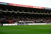 Leeds fans during the EFL Sky Bet Championship match between Bristol City and Leeds United at Ashton Gate, Bristol, England on 9 March 2019.