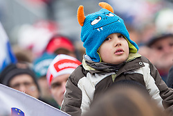 Young supporter during Ski Flying Hill Individual Competition at Day 4 of FIS Ski Jumping World Cup Final 2018, on March 25, 2018 in Planica, Ratece, Slovenia. Photo by Urban Urbanc / Sportida