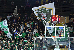 February 10, 2019 - Avellino, Avellino, Italia - Foto Cafaro/LaPresse.10 Febbraio 2019 Avellino, Italia.sport .basket.Sidigas Avellino vs Germani Basket Brescia - Campionato italiano di basket Serie A PosteMobile stagione 2018/19..Nella foto: tifosi della Sidigas Avellino...Photo Cafaro/LaPresse.February 10, 2019 Avellino, Italy.sport .basket.Sidigas Avellino vs Germani Basket Brescia - Italian Lega Basket Serie A PosteMobile 2018/2019 season..In the pic: the Sidigas Avellino fans show their support. (Credit Image: © Cafaro/Lapresse via ZUMA Press)