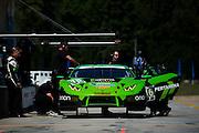 September 29, 2016: IMSA Petit Le Mans, #16 Spencer Pumpelly, Corey Lewis, Change Racing, Lamborghini Huracán GT3