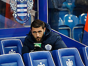 QPR Forward Charlie Austin starts on the bench for the Sky Bet Championship match between Queens Park Rangers and Leeds United at the Loftus Road Stadium, London, England on 28 November 2015. Photo by Andy Walter