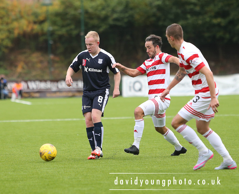 Dundee&rsquo;s Nicky Low returned to action after illness  - Hamilton Academical v Dundee, Ladbrokes Premiership at New Douglas Park<br /> <br /> <br />  - &copy; David Young - www.davidyoungphoto.co.uk - email: davidyoungphoto@gmail.com