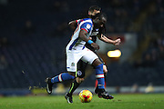 Blackburn Rovers striker, Marvin Emnes (17)   during the EFL Sky Bet Championship match between Blackburn Rovers and Brighton and Hove Albion at Ewood Park, Blackburn, England on 13 December 2016.