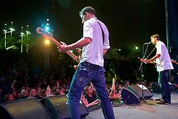 Riverstage, Great Plaza of Penn's Landing, Philadelphia, PA - September 6-9, 2012; Frank Turner performed during the 2012 WHYY Connections Festival at Penn's Landing.
