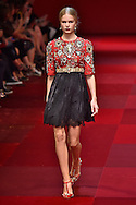 Dolce Gabbana<br /> Milan Fashion Week  Spring Summer 15 Milan September 2014