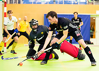 VIANEN - Wiegert Schut (Adam) . Zaalhockey Amsterdam-Victoria heren.  COPYRIGHT KOEN SUYK