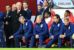 England Manager Roy Hodgson gestures in frustration - Mandatory by-line: Matt McNulty/JMP - 27/05/2016 - FOOTBALL - Stadium of Light - Sunderland, United Kingdom - England v Australia - International Friendly