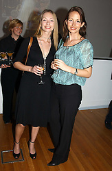 Left to right, CARISSA HARROD and CARLEE HARROD at an exhibition of photographs by Jack Cardiff held at The Royal College of Art, Kensington Gore, London on 10th November 2004.<br /><br />NON EXCLUSIVE - WORLD RIGHTS