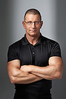 Celebrity Chef Robert Irvine of Restaurant Impossible Advertising Campaing for Food Network by Photographer Michel Leroy