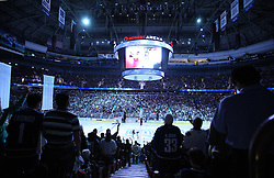 June 1, 2011; Vancouver, BC, CANADA; A general view before game one of the 2011 Stanley Cup Finals between the Vancouver Canucks and Boston Bruins at Rogers Arena. The Canucks won 1-0. Mandatory Credit: Jason O. Watson / US PRESSWIRE