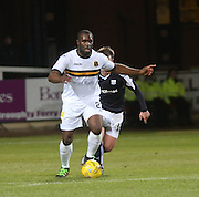 Dumbarton&rsquo;s former Dundee striker Christian Nade - Dundee v Dumbarton, William Hill Scottish Cup Fifth Round at Dens Park<br /> <br />  - &copy; David Young - www.davidyoungphoto.co.uk - email: davidyoungphoto@gmail.com