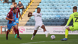 Ivan Toney of Peterborough United goes close to scoring against Scunthorpe United - Mandatory by-line: Joe Dent/JMP - 13/10/2018 - FOOTBALL - Glanford Park - Scunthorpe, England - Scunthorpe United v Peterborough United - Sky Bet League One