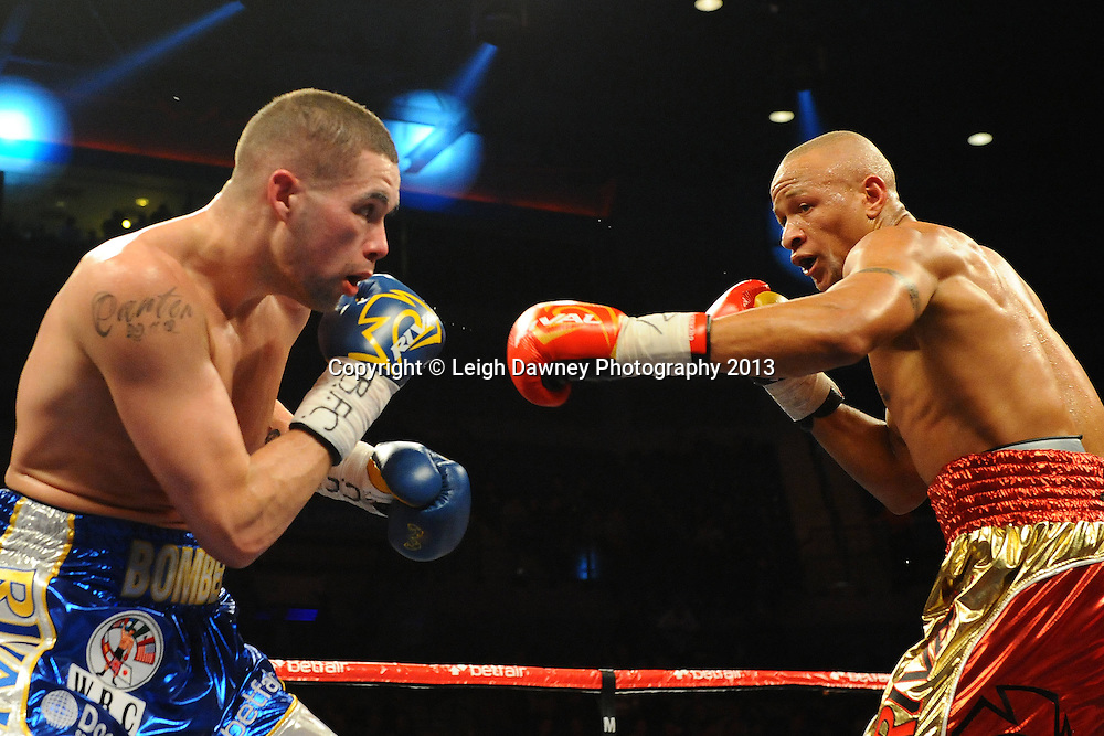 Tony Bellew v Isaac Chilemba (draw) after a 12x3 min bout for the WBC Silver Light Heavy weight Title and Final Eliminator at the Echo Arena, Liverpool, London, UK on the 30th March 2013. Matchroom Sport © Leigh Dawney Photography 2013.