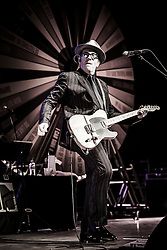 Elvis Costello and the Imposters in concert at the Symphony Hall, Birmingham, United Kingdom<br /> Picture Date: 31 May, 2013