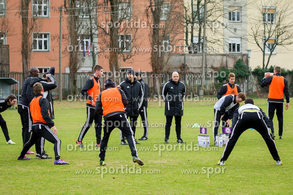 Ante Simundza, head coach of Maribor during first practice session of NK Maribor after winter break on January 04, 2014 in Ljudski vrt, Maribor, Slovenia. Photo by Vid Ponikvar / Sportida