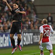 NLD/Amsterdam/20100928 - Champions Leaguewedstrijd Ajax - AC Milan, Zlatan Ibrahimovic