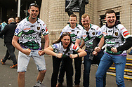 Fan Pictures of  of Hull FC fans before there match against St Helens during the Betfred Super League match at the Dacia Magic Weekend at St. James's Park, Newcastle<br /> Picture by Stephen Gaunt/Focus Images Ltd +447904 833202<br /> 20/05/2017
