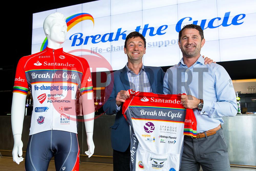 Break the Cycle Kit Launch - Rogan Thomson/JMP - 09/06/2017 - SPORT - Ashton Gate Stadium - Bristol, England.