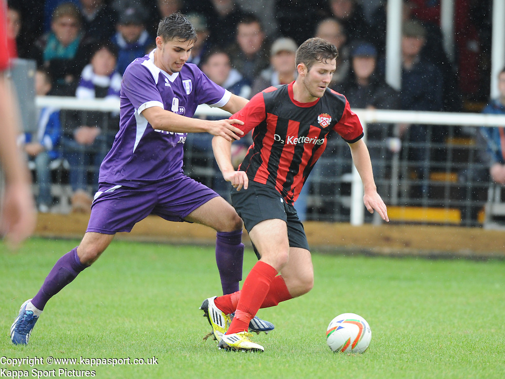 Jonathan Thorpe, Kettering Town v Daventry Town Southern League Division One Central, 25th August 2014