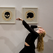 23.03.16<br /> LSAD are delighted to host SYMBOLS: Culture of Death and Cultural Life, a Creative Europe Project under the European Commission. <br /> <br /> Attending the exhibition was dancer Jennifer De Brun, who featured in the exhibition.<br /> <br /> LSAD are one of the seven partners in this Creative Europe project which is running from 2014-2016. This exhibition will feature work from international printmakers, dancers and musicians from 7 European countries. This show embraces not only the work created by these artists during two residencies responding to the theme of symbols, one in Aviles, Spain and one in Dundee Scotland and includes work by Limerick artists, musicians and dancers, Gemma Dardis, Mary O'Dea, Jennifer Brown and Hannah Fahey, but also offers a response by the students of the printmaking department in LSAD to the historic Limerick cemeteries of Mount St. Lawrence and St. John's. The students created an exciting and thought provoking body of work which is showing along side these international artists. Picture: Alan Place/Fusionshooters