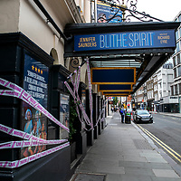 Blithe Spirit at The Duke of York's Theatre;<br />