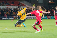 Newport County v Crawley Town - League 2 - 29//09/2015
