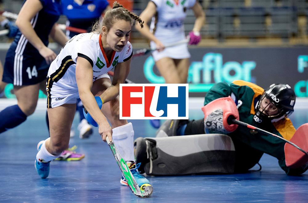 BERLIN - Indoor Hockey World Cup<br /> Women: Germany - Russia<br /> foto: Lisa Altenburg.<br /> WORLDSPORTPICS COPYRIGHT FRANK UIJLENBROEK