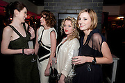 MICHELLE DOCKERY; RUTH WILSON; MIA VALENTINE; LAURA CARMICHAEL, , InStyle Best Of British Talent , Shoreditch House, Ebor Street, London, E1 6AW, 26 January 2011