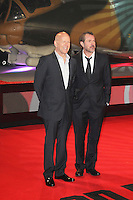 Bruce Willis; Sebastian Koch, A Good Day To Die Hard - UK Film Premiere, Empire Cinema Leicester Square, London UK, 07 February 2013, (Photo by Richard Goldschmidt)