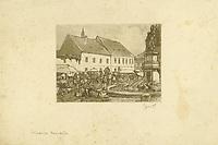 [Zagreb - Kaptol] / [Milenko] Gjurić. <br /> <br /> Impresum[Zagreb], [1940].<br /> Materijalni opis1 grafika : bakropis, akvatinta ; otisak 110 x 149 mm, list 250 x 346 mm.<br /> AutorGjurić, Milenko D.(1894.–1945.)<br /> OpisFontana i trg sa štandovima.<br /> Vrstavizualna građa • grafike<br /> ZbirkaGrafička zbirka NSK • Zbirka grafika 20. stoljeća<br /> Formatimage/jpeg<br /> PredmetZagreb<br /> SignaturaGZGH 1030 gju 52<br /> NapomenaSignatura d.d. ispod otiska tintom: Gjurić; l.d. ispod otiska tintom: Prijatelju Habedušu • Naslov dao katalogizator<br /> PravaJavno dobro<br /> Identifikatori000467837<br /> NBN.HRNBN: urn:nbn:hr:238:178320 <br /> <br /> Izvor: Digitalne zbirke Nacionalne i sveučilišne knjižnice u Zagrebu