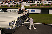 Acey Mateer, Goodwood Revival Meeting. Saturday 17 September 2005.  ONE TIME USE ONLY - DO NOT ARCHIVE  © Copyright Photograph by Dafydd Jones 66 Stockwell Park Rd. London SW9 0DA Tel 020 7733 0108 www.dafjones.com