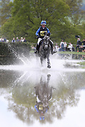 Therese Viklund (SWE) on Hermanus II during the International Horse Trials at Chatsworth, Bakewell, United Kingdom on 12 May 2018. Picture by George Franks.