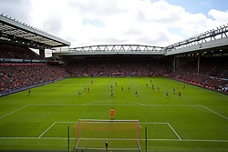 LIVERPOOL, ENGLAND - Sunday, May 11, 2014: Liverpool take on Newcastle United during the Premiership match at Anfield. (Pic by David Rawcliffe/Propaganda)