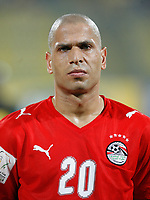 Photo: Steve Bond/Richard Lane Photography.<br />Egypt v Sudan. Africa Cup of Nations. 26/01/2008. Wael Gomaa