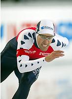 Skøyter, 9. november 2002. Verdenscupåpning, Vikingskipet, artin Hersman, Nederland..