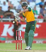 Faraan Behardien of South Africa during the 2015 KFC T20 International game between South Africa and the West Indies at Newlands Cricket Ground, Cape Town on 9 January 2015 ©Ryan Wilkisky/BackpagePix