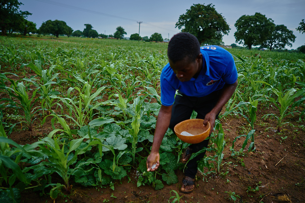 7/18/19 /2019 / Kpatia / Ghana: For the past five years, Oxfam has been absent in Kpatia and Tambalug (2 communities in Garu Tempane District of the Upper East Region of Ghana).  This project is a visual documentary study on the impact of climate change on these farming communities, in the absence of fresh aid.