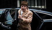 UNITED KINGDOM, London: 1 March 2016. Leader of the House of Lords Baroness Stowell arrives in Downing Street to attend Cabinet meeting in central London.  Pic by Andrew Cowie / Story Picture Agency