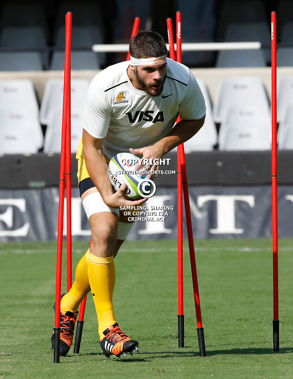 Marcos Kremer of the Jaguares during the Super Rugby match between the Cell C Sharks and the Jaguares at Growthpoint Kings Park, April 8th 2017 -  Durban South Africa Photo by AL NICOLL (Steve Haag Sports)