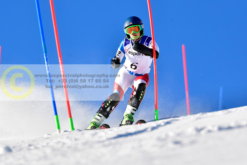 SCHMIDT Bigna, LW5/7-3, SUI, Slalom at the WPAS_2019 Alpine Skiing World Cup, La Molina, Spain