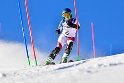 SCHMIDT Bigna, LW5/7-3, SUI, Slalom at the WPAS_2019 Alpine Skiing World Cup, La Molina, Spain