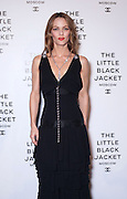 18.OCTOBER.2012. MOSCOW<br /> <br /> MILLA JOVOVICH AND VANESSA PARADIS ATTEND THE CHANEL LITTLE BLACK JACKET EXHIBITION HELD IN MOSCOW, RUSSIA.<br /> BYLINE: EDBIMAGEARCHIVE.CO.UK<br /> <br /> *THIS IMAGE IS STRICTLY FOR UK NEWSPAPERS AND MAGAZINES ONLY*<br /> *FOR WORLD WIDE SALES AND WEB USE PLEASE CONTACT EDBIMAGEARCHIVE - 0208 954 5968*
