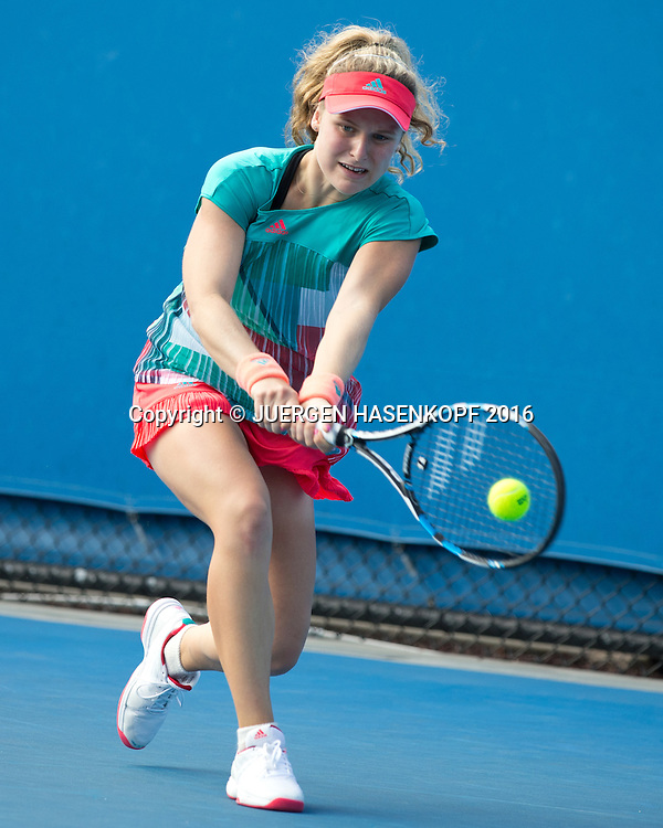 Mira Antonitsch, GS, Australian Open 2016<br /> <br /> Tennis - Australian Open 2016 - Grand Slam ITF / ATP / WTA -  Melbourne Park - Melbourne - Victoria - Australia  - 23 January 2016.